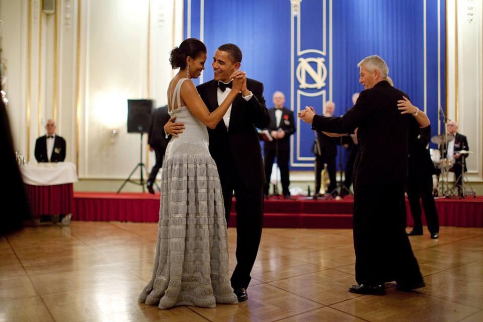 Chuyen tinh yeu vo chong Obama anh 1