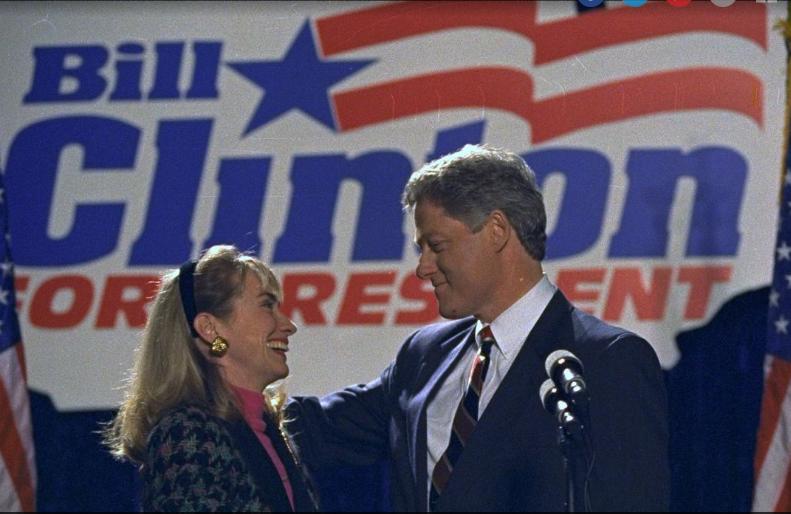 Chuyen tinh song gio cua vo chong ba Clinton anh 6