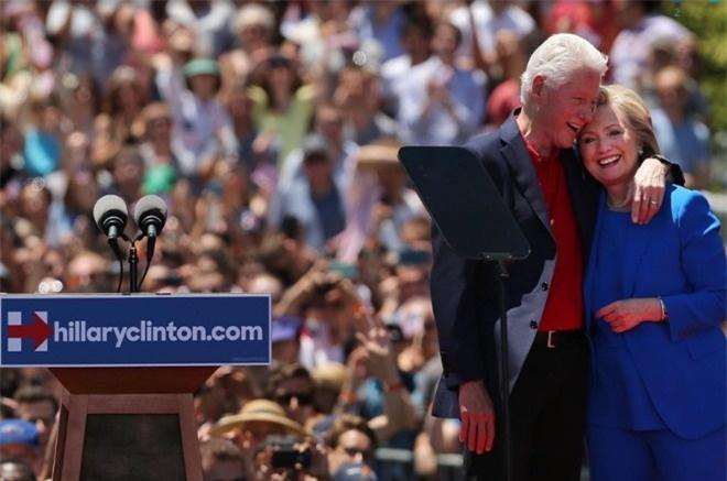 Chuyen tinh song gio cua vo chong ba Clinton anh 11