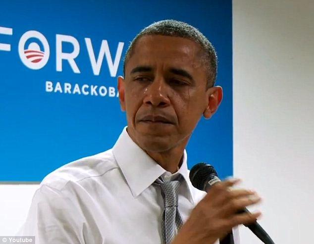 Nhung khoanh khac xuc dong cua Obama suot 8 nam qua hinh anh 7