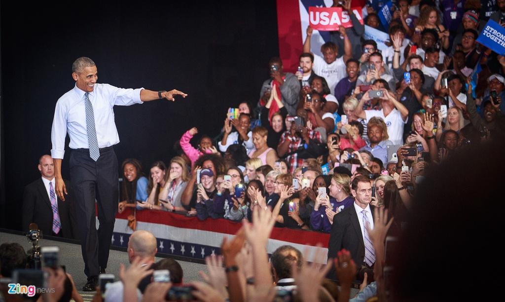 Obama: Dung de bi lua boi Donald Trump hinh anh 1