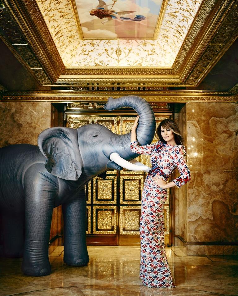 Melania Trump: Tu nguoi mau thanh ba chu Nha Trang hinh anh 6