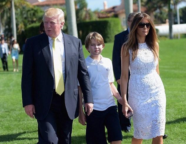 Dan trai xinh gai dep nha Trump voi 5 con, 8 chau hinh anh 10