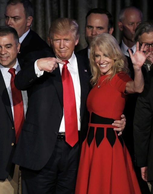 Trump xuat hien lan dau tien sau chien thang hinh anh 7