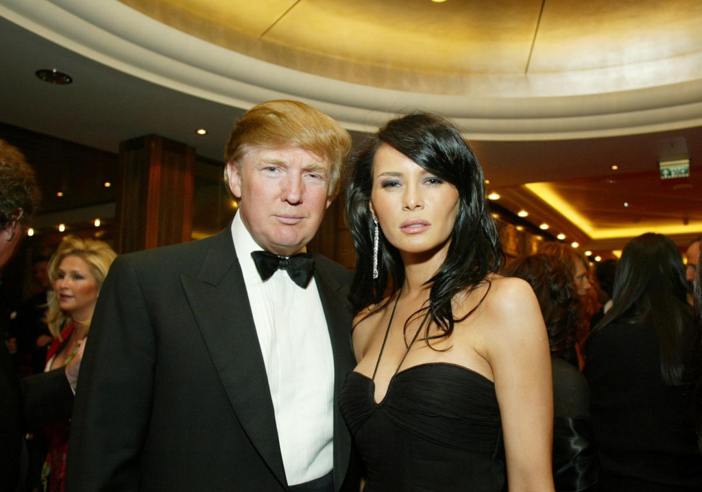Chan dung 3 nguoi vo cua Trump anh 8