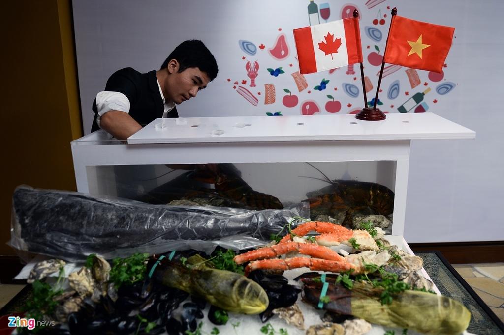 Khoi dong 'Thang am thuc Canada tai Viet Nam' hinh anh 8