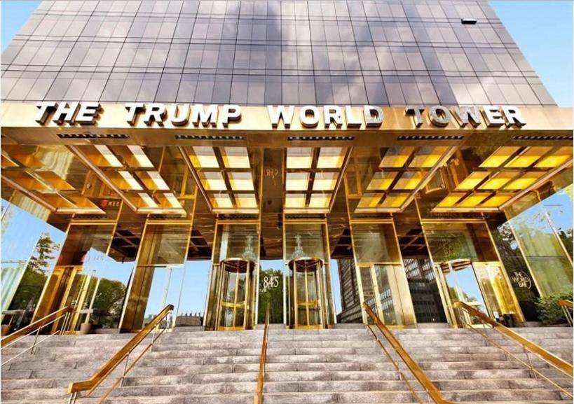 Bat dong san Trump tran ngap New York hinh anh 4