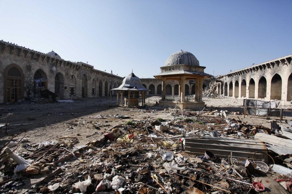 Aleppo chim trong bi kich tu cuoc noi chien keo dai 5 nam hinh anh 11