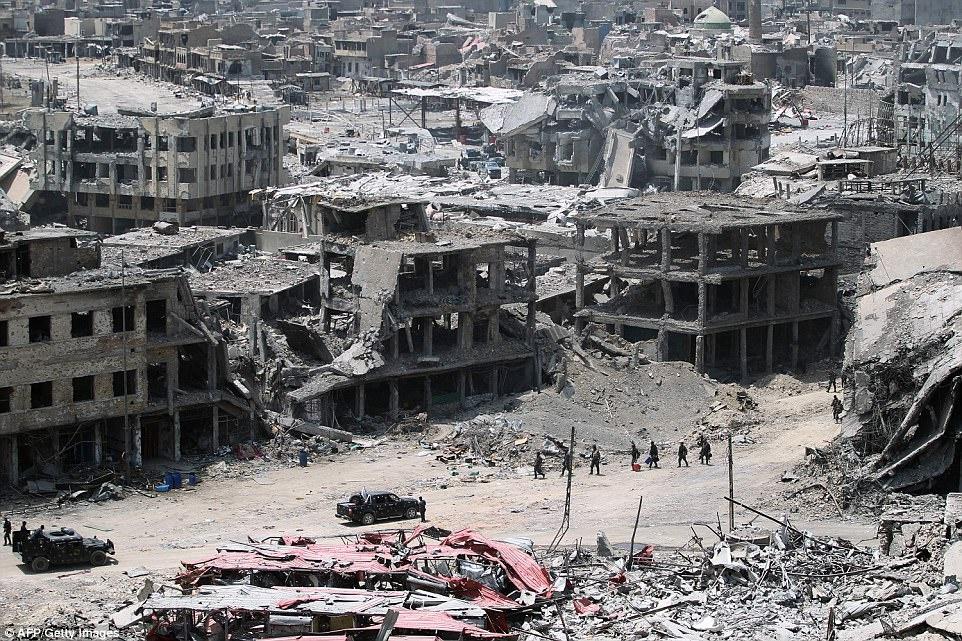 Mosul sam uat hoa tan hoang sau 9 thang bi IS chiem dong hinh anh 12