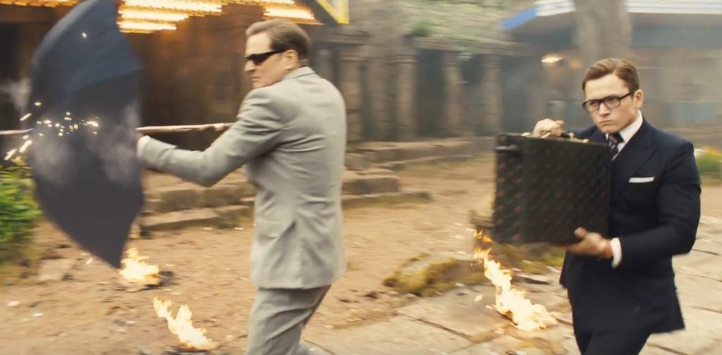 'Kingsman 2': Khong phai cu hoanh trang hon la hay hinh anh 1