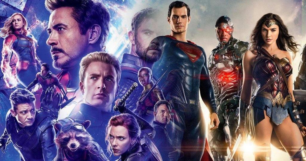 DC va marvel anh 1