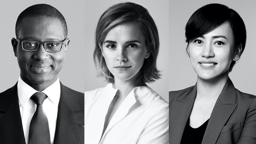 Emma Watson thanh sep Gucci anh 1