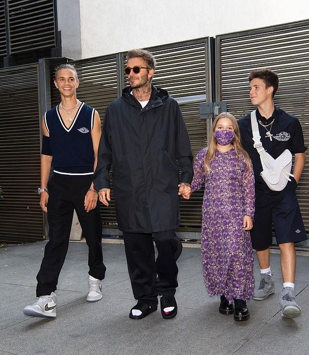 gia dinh Beckham tu hop anh 7