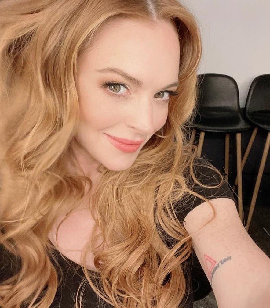 Lindsay Lohan tro lai anh 4