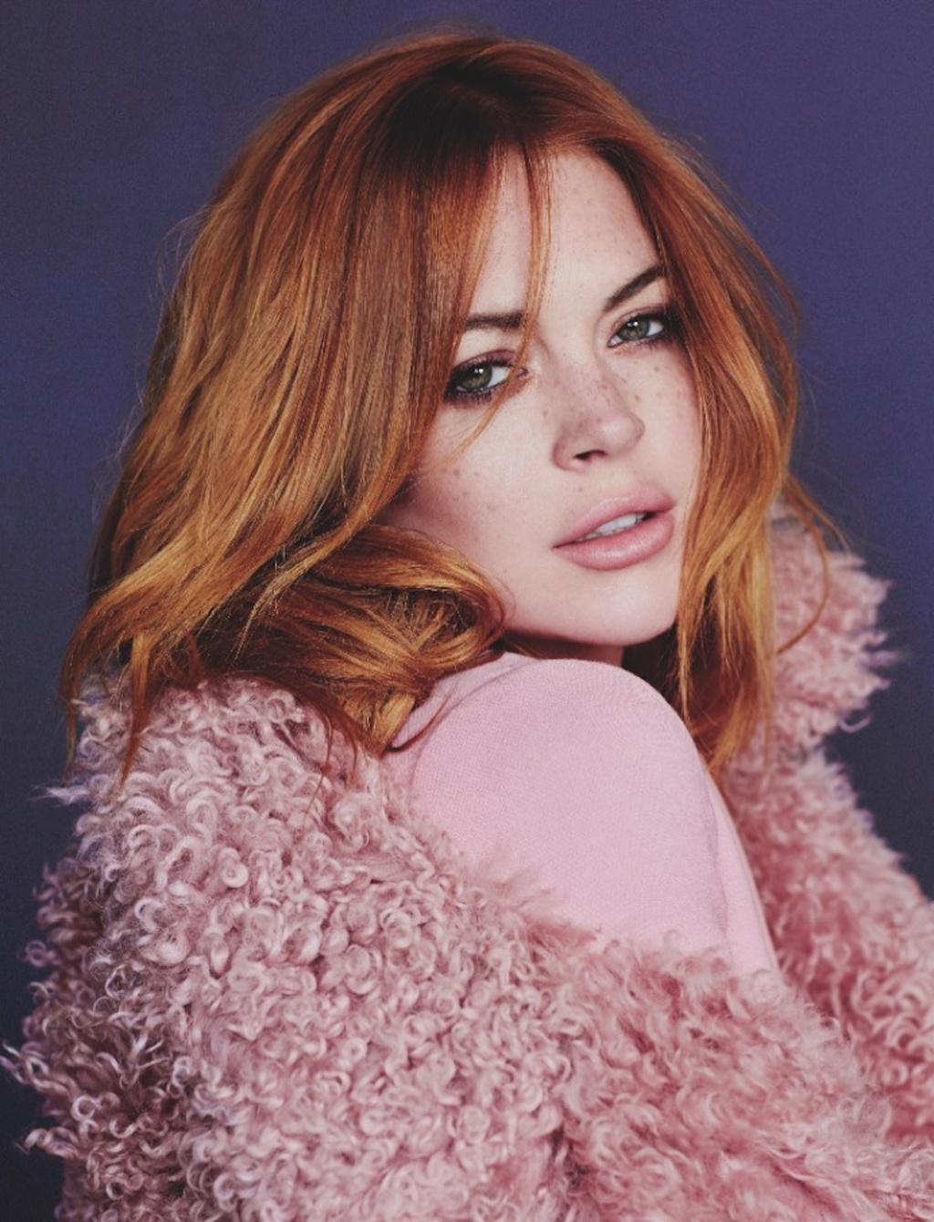 Lindsay Lohan tro lai anh 5