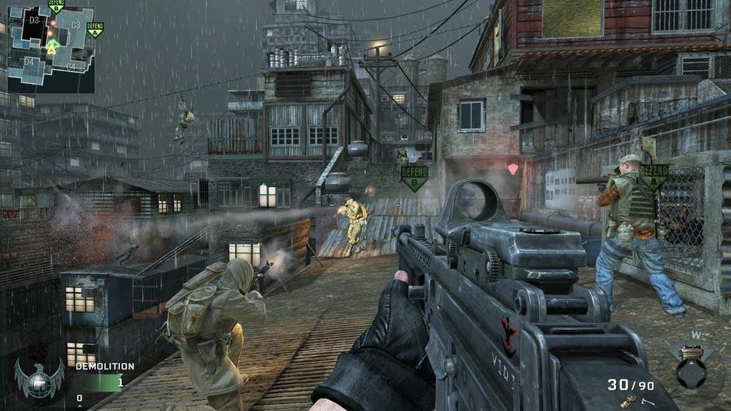 Tình bạn ngoài đời bỗng trở thành tình đồng chí và chiến hữu trong các tựa game bắn súng. Ảnh: Call of Duty.