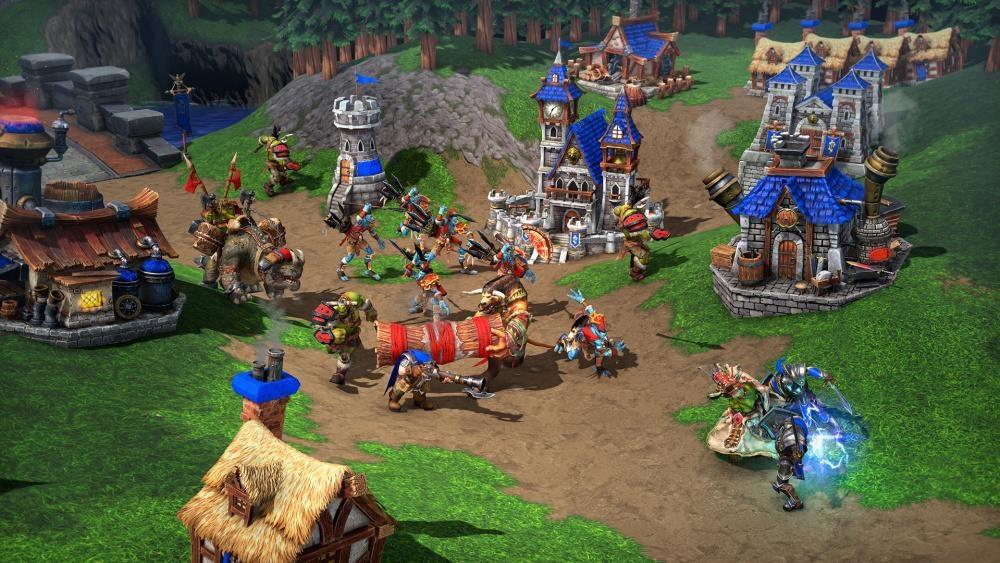 Vùng đất kỳ diệu, nơi những game thủ tạo nên những trang sử thi anh hùng về chính họ. Ảnh: Warcaft III.