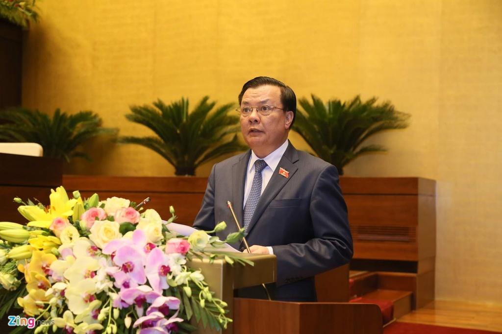 Bo truong Tai chinh: 'Toi dang rat lo ve so thu NSNN nam 2020' anh 1