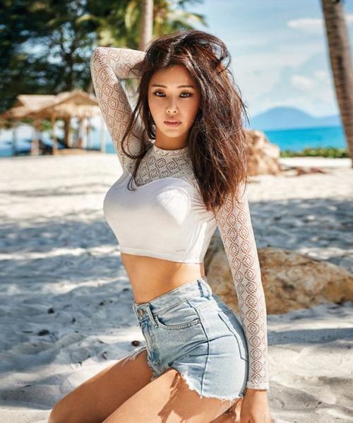 Vi sao Honey Lee duoc menh danh la Hoa hau goi cam nhat Han Quoc? hinh anh 5 than_hinh_boc_lua_cua_hoa_hau_han_honey_lee_2.jpg