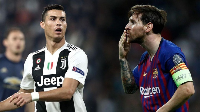 Messi vs Ronaldo anh 1