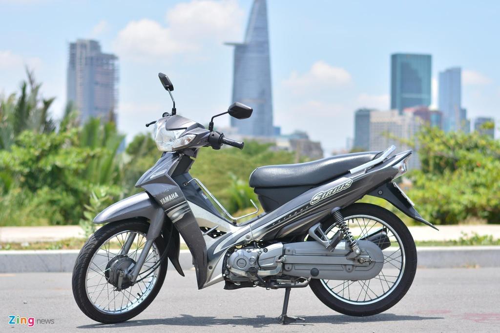 Yamaha Sirius sau 11 nam va 37.000 km con lai gi? hinh anh 1