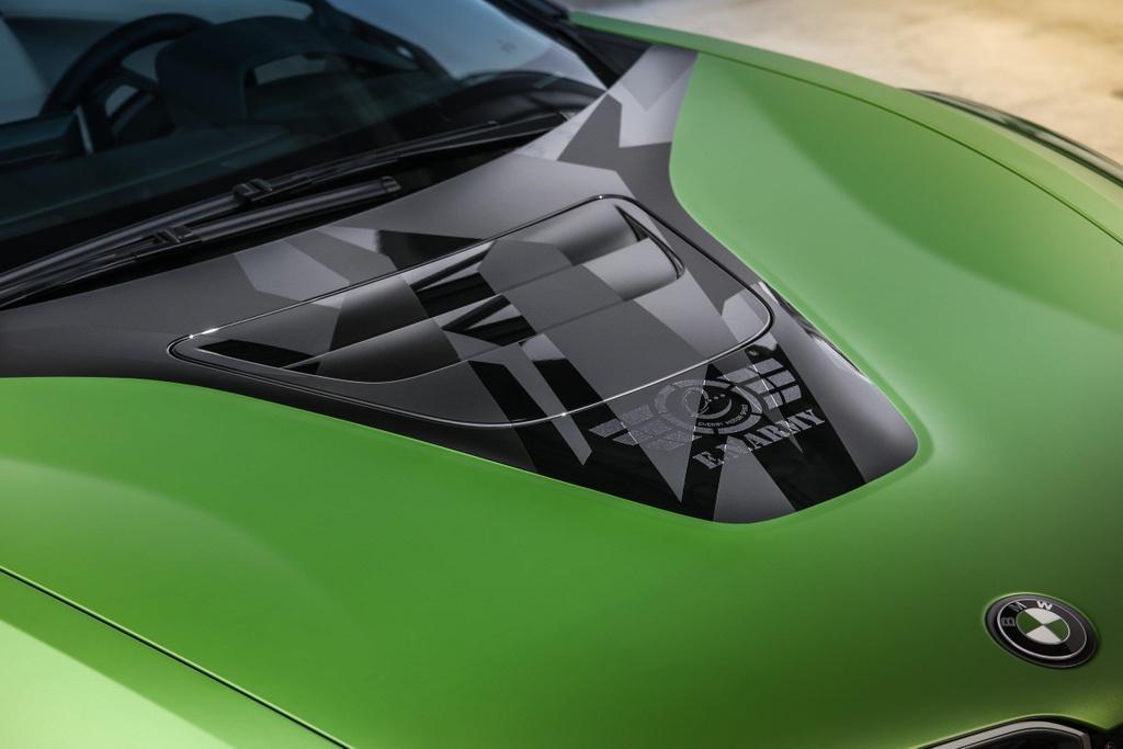 BMW I8 Roadster lot xac voi dan ao xanh nham hinh anh 3