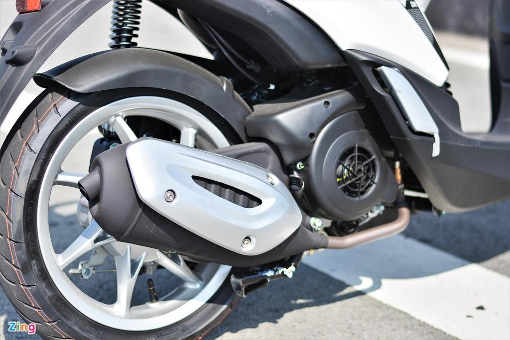 Piaggio Liberty One gia 48,9 trieu co gi de canh tranh Honda SH Mode? hinh anh 10