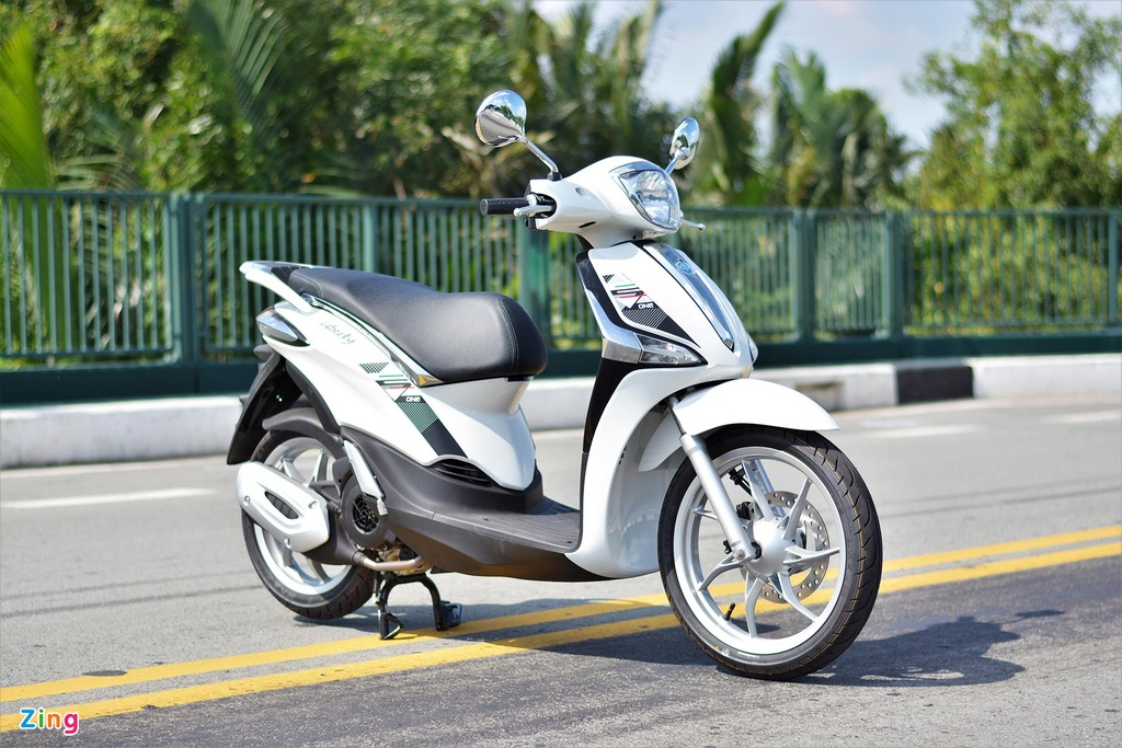 Piaggio Liberty One gia 48,9 trieu co gi de canh tranh Honda SH Mode? hinh anh 1