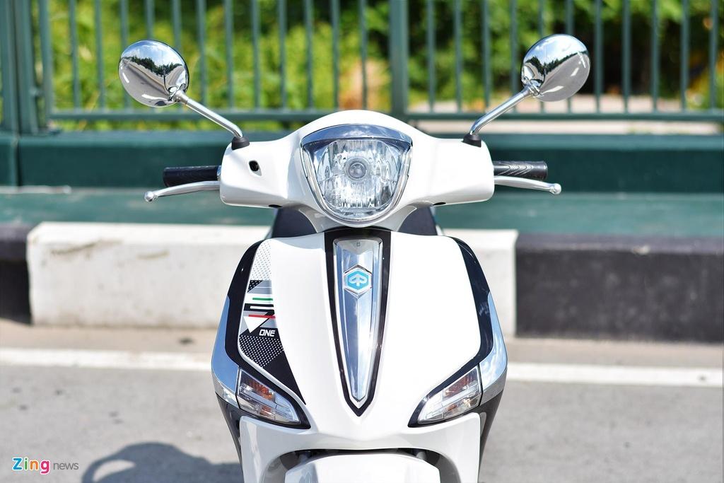Piaggio Liberty One gia 48,9 trieu co gi de canh tranh Honda SH Mode? hinh anh 3