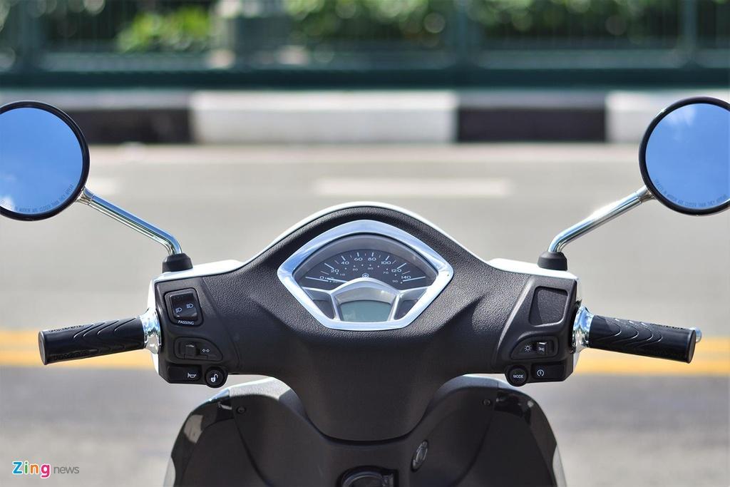 Piaggio Liberty One gia 48,9 trieu co gi de canh tranh Honda SH Mode? hinh anh 4