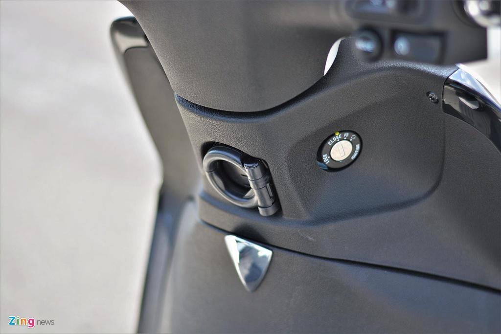 Piaggio Liberty One gia 48,9 trieu co gi de canh tranh Honda SH Mode? hinh anh 6