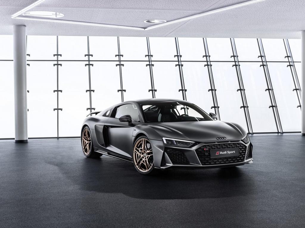 Sieu xe Audi R8 se dung dong co dien vao nam 2023 hinh anh 1