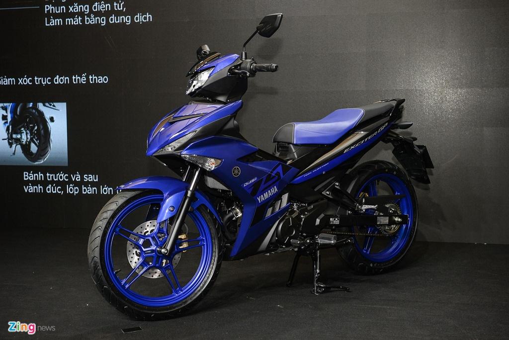 Yamaha Exciter 150 nhap khau khac gi ban lap rap trong nuoc? hinh anh 1