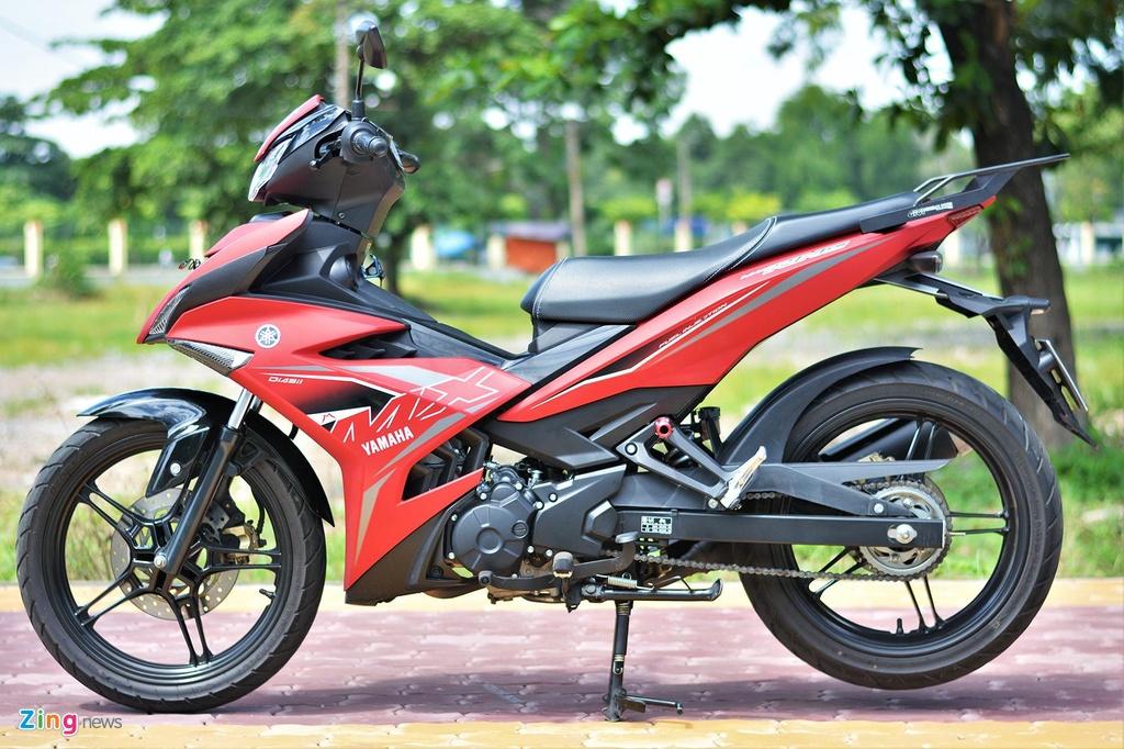 Yamaha Exciter 150 nhap khau khac gi ban lap rap trong nuoc? hinh anh 14