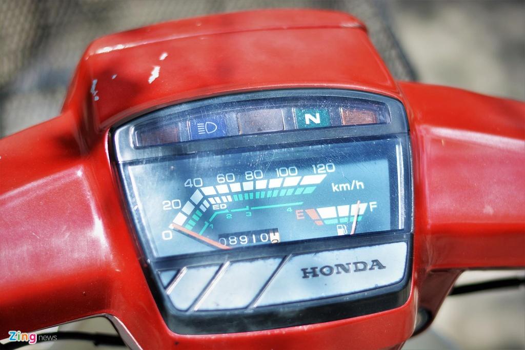 Honda Citi 100 van con moi sau khi chay 200.000 km hinh anh 4