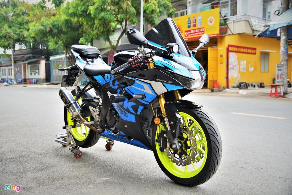 Suzuki GSX-R150 do hang loat do choi hang hieu dat gia hinh anh 10