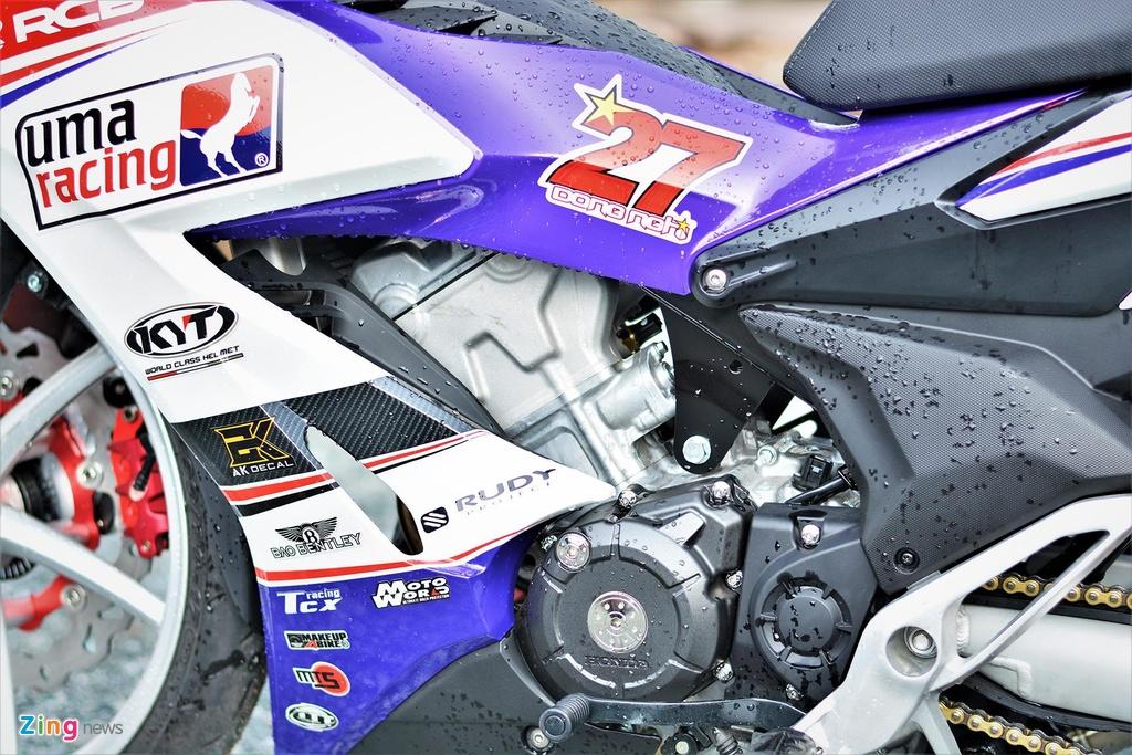 Honda Winner X do tem va phu kien xe dua, ton khoang 30 trieu hinh anh 10
