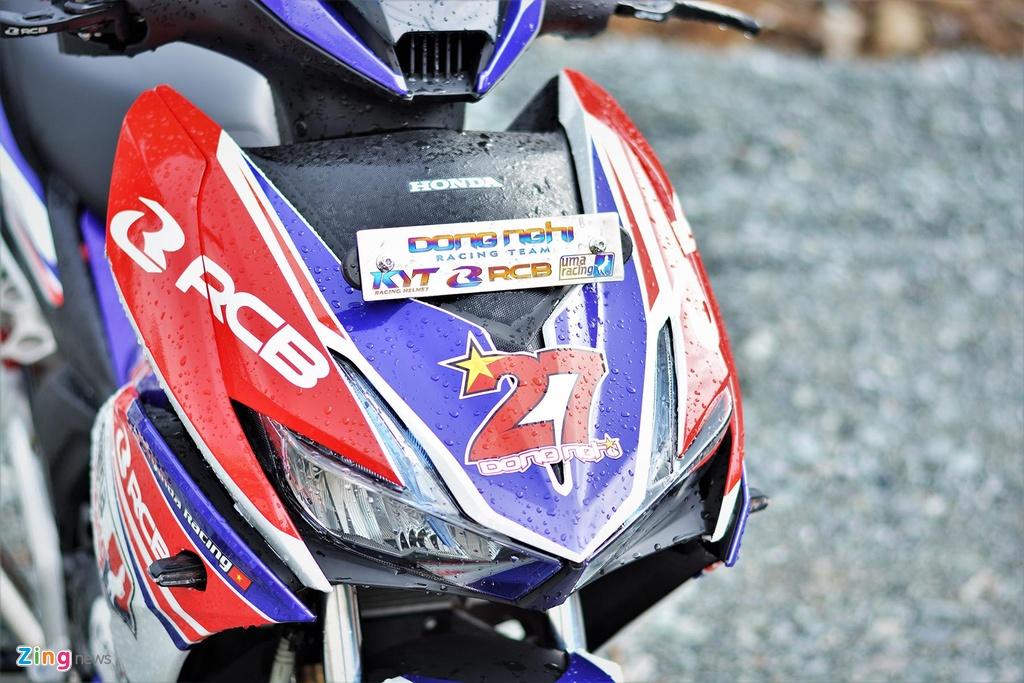 Honda Winner X do tem va phu kien xe dua, ton khoang 30 trieu hinh anh 4