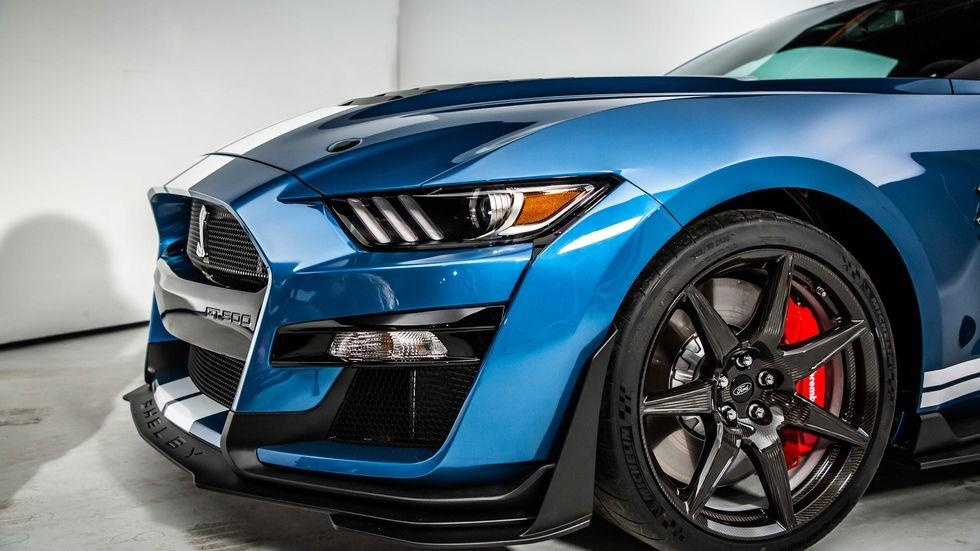 Voi 10 USD, co the so huu Ford Shellby Mustang GT500 2020 hinh anh 2