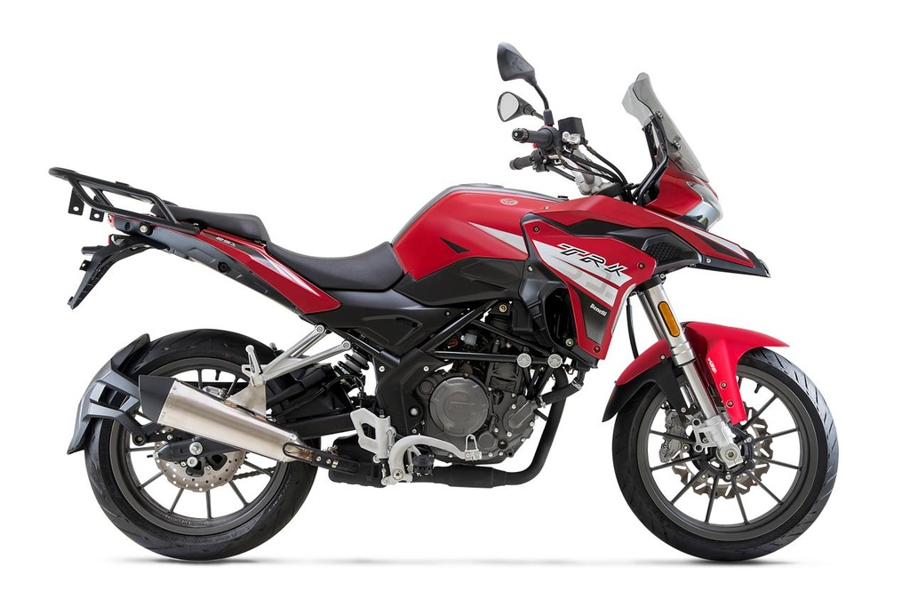 Xe phuot co nho Benelli TRK 251 cap ben Dong Nam A hinh anh 1
