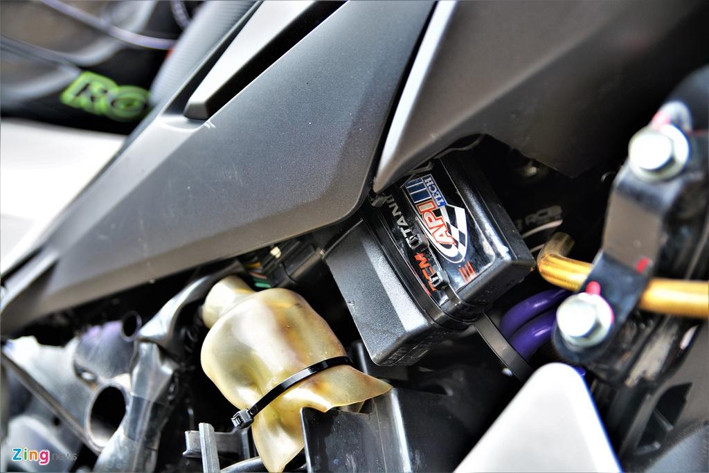 Honda Winner X phien ban xe dua duoc do chinh hang co gi dac biet? hinh anh 11