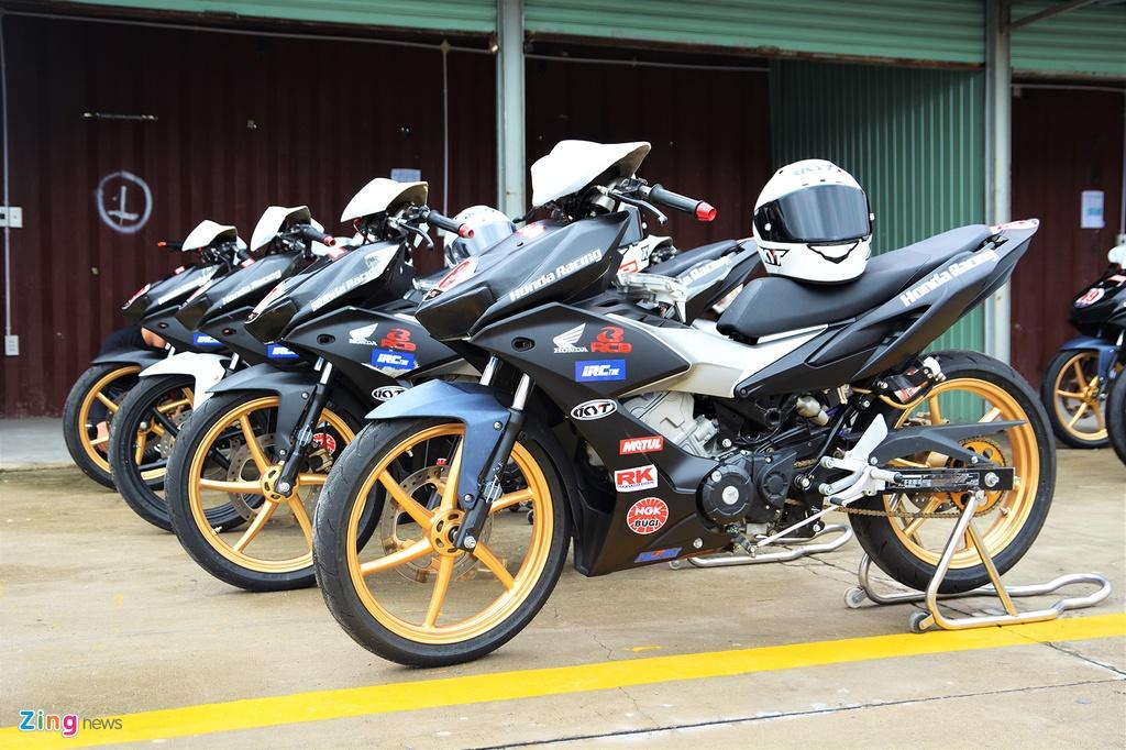 Honda Winner X phien ban xe dua duoc do chinh hang co gi dac biet? hinh anh 1