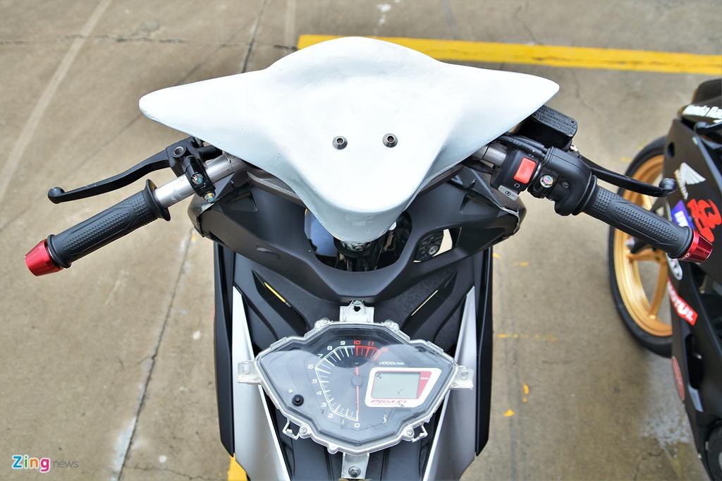 Honda Winner X phien ban xe dua duoc do chinh hang co gi dac biet? hinh anh 2