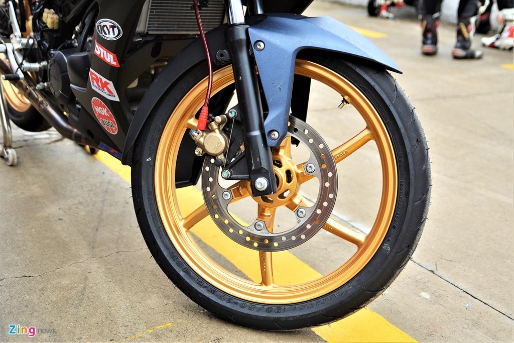 Honda Winner X phien ban xe dua duoc do chinh hang co gi dac biet? hinh anh 6