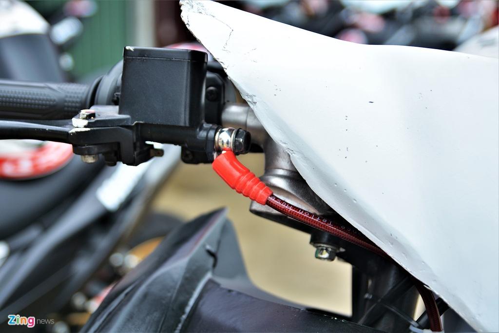 Honda Winner X phien ban xe dua duoc do chinh hang co gi dac biet? hinh anh 7