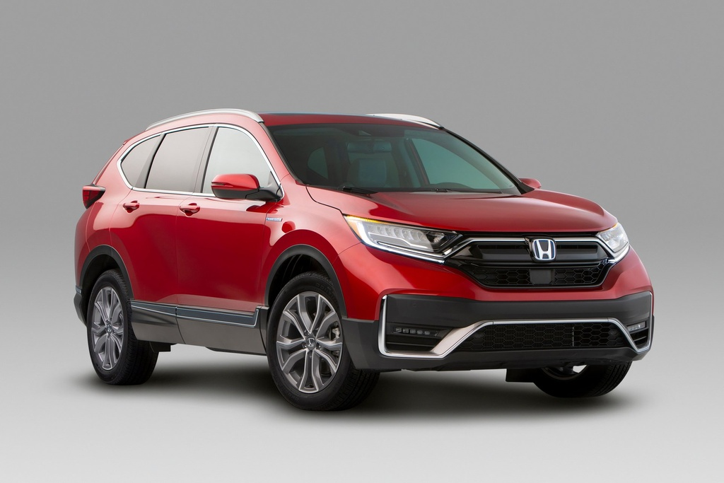 honda cr v ra mat co ban hybrid thay doi ngoai that loai bo can so