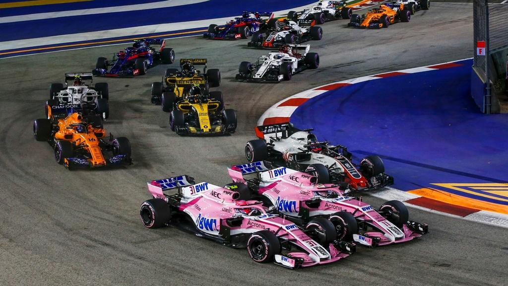 Toan canh chang dua F1 Singapore GP anh 3