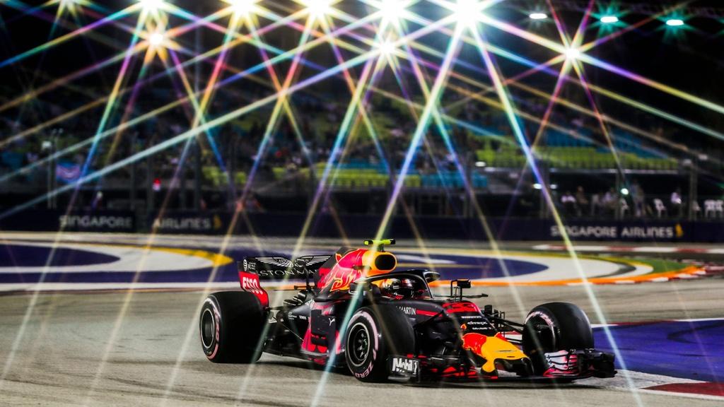 Toan canh chang dua F1 Singapore GP anh 4