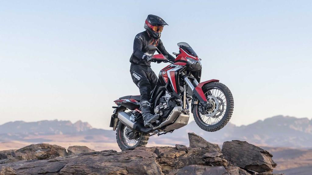 Moto phuot hang nang Honda CRF1100L Africa Twin 2020 ra mat hinh anh 11