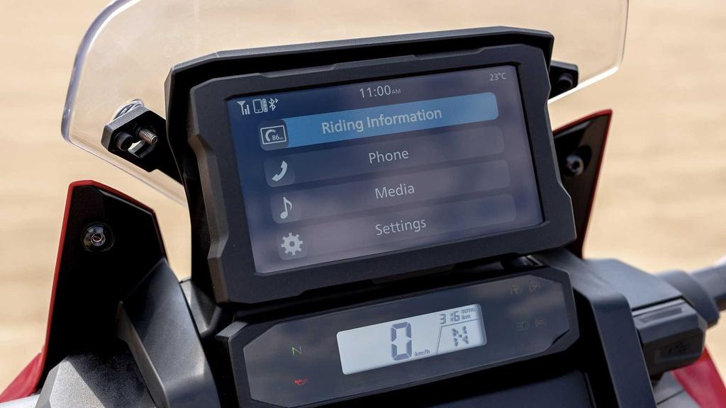 Moto phuot hang nang Honda CRF1100L Africa Twin 2020 ra mat hinh anh 12